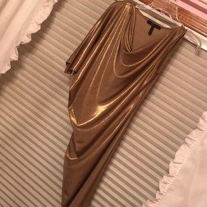 New Gold BCBG Maxazria dress